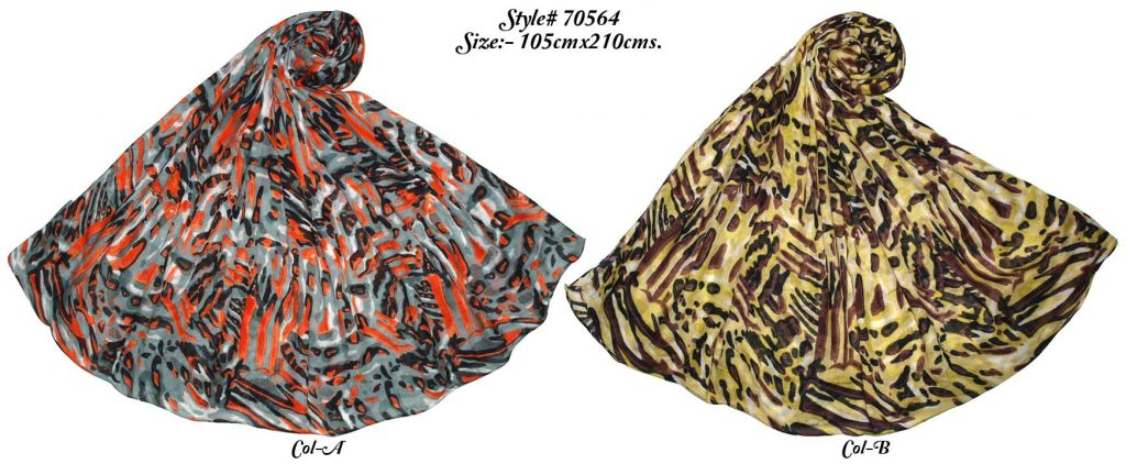 MODAL ANIMAL SKIN DESIGN PRINTED SARONG WITH ALL SIDES STITCHED FOR WOMENS