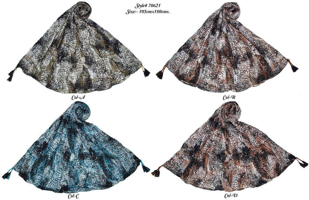 SNAKE SKIN DESIGN PRINTED SARONG WITH ALL FOUR CORNERS TASSELS,GONDA, FRINGES ONLY FOR WOMENS