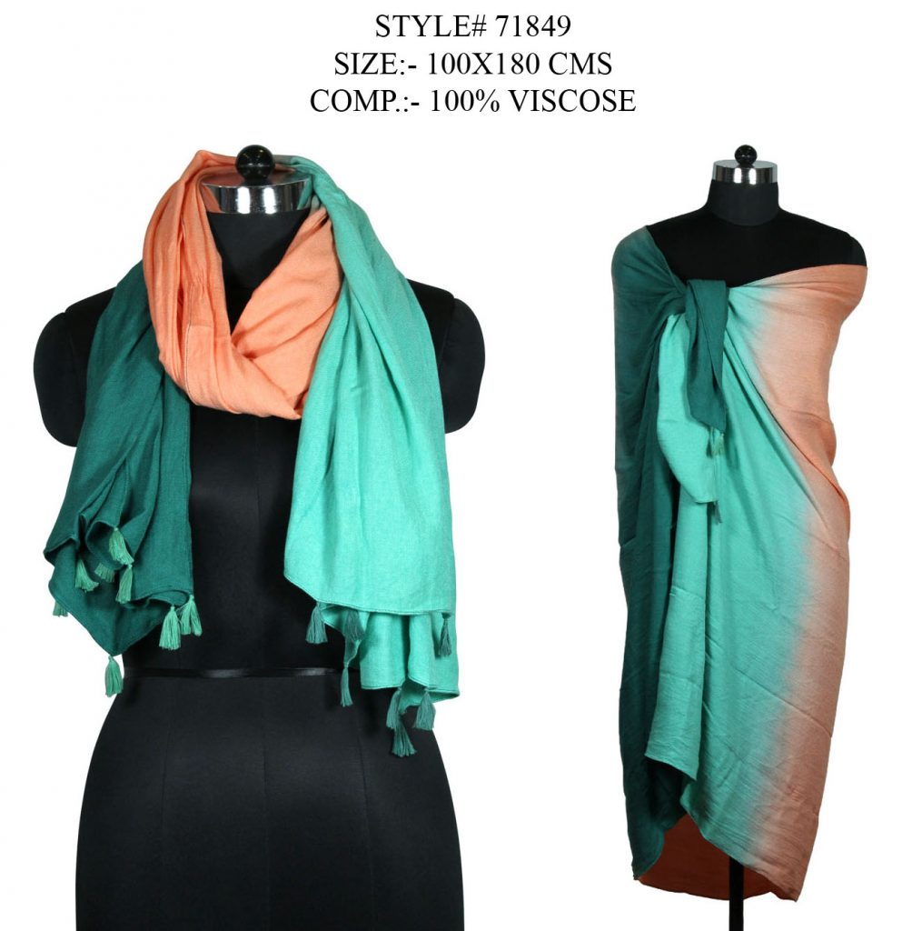 TIE DYE SARONG WITH FANCY TASSLES FOR WOMENS